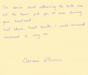 charmaine-w-One-Dental-Testimonials